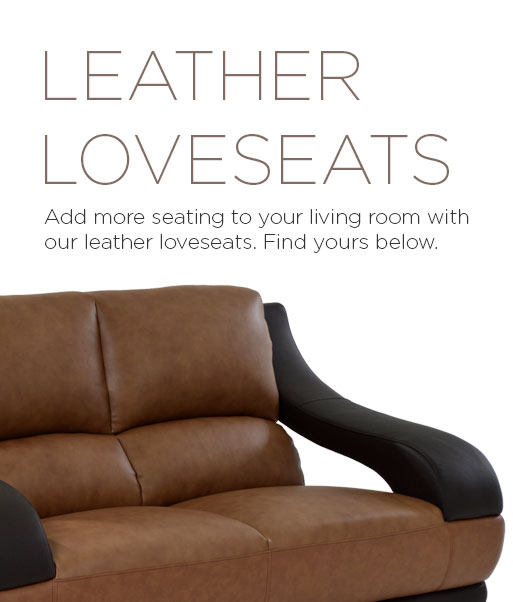 Leather Furniture - Leather Loveseats | El Dorado Furniture