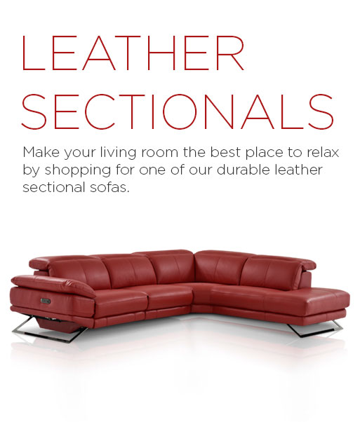 Leather Furniture - Leather Sectional Sofas | El Dorado ...