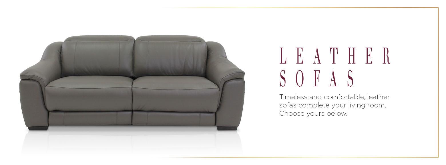 Leather Furniture Leather Sofas El Dorado Furniture
