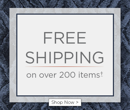Free shipping on over 200 items. Shop now. Offer limited to select items and accessories.